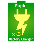 Rapid Battery Charger x6