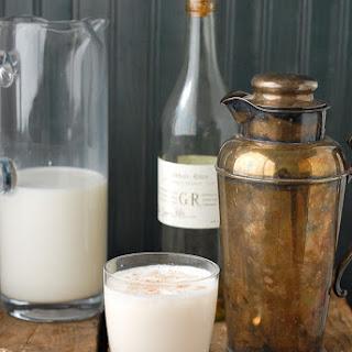 Classic New Orleans Brandy Milk Punch.