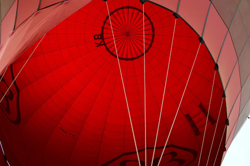 Myanmar-balloon-inside - An inside look at one of these magnificent hot air balloons as we prepare for liftoff.