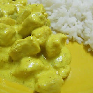 Creamy Chicken Curry.