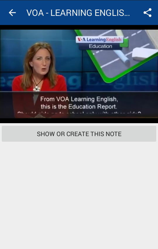 VOA Learning English- screenshot