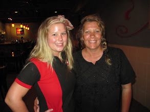 Photo: Year 2 Day 104 -  Dee With Aussie Gabi from the Red Sky Restaurant