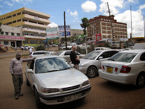 Photo: Embu - our taxi and driver
