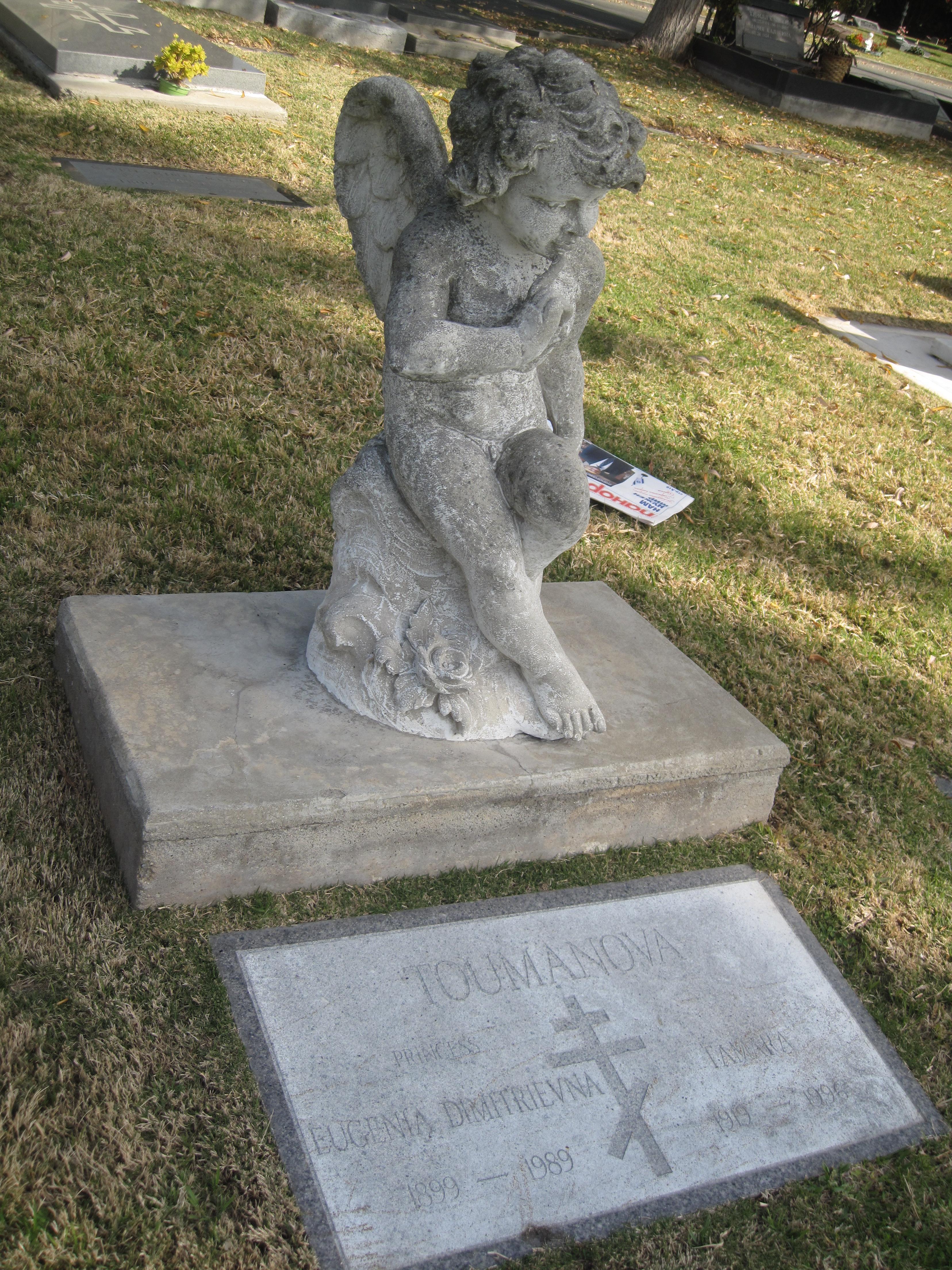 Photo: Toumanova Tamara Могила Тумановой находится: Section 8, Lot 111, Grave 7 В близи через 5 могил находится могила её отца Хасидовича В.Д.