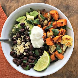 Black Bean & Sweet Potato Power Bowl.