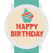 Happy Birthday Watch Face