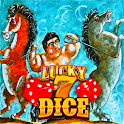Lucky 7 Dice Casino: Strong Man and Two Horses icon