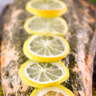Lemon Dill Garlic Butter Salmon.
