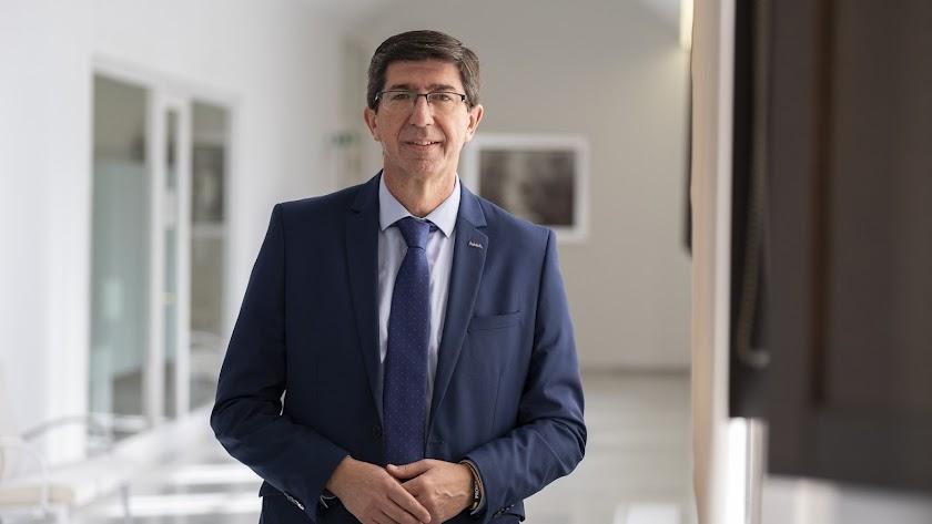 Juan Marín, vicepresidente de la Junta de Andalucía.