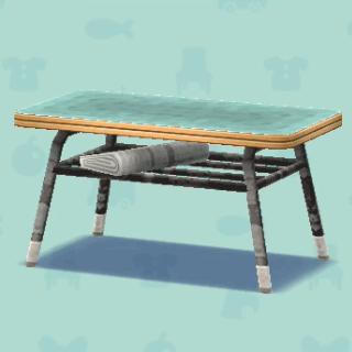 しょくどうのテーブル
