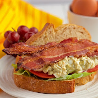 Egg salad BLT sandwich