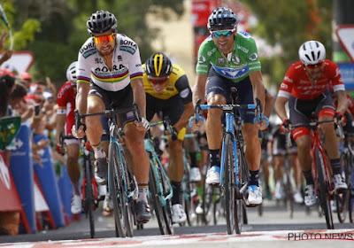 Le podium du Critérium de Shanghaï est composé de Peter Sagan, Geraint Thomas et Matteo Trentin
