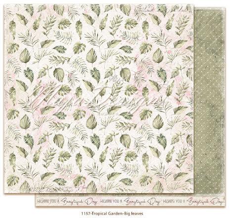 Maja Design Tropical Garden 12X12 - Big leaves