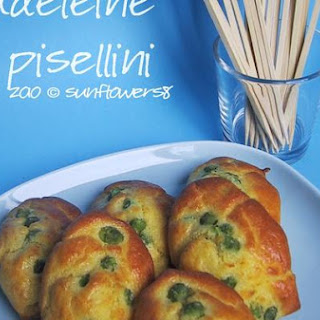 Madeleine With Peas