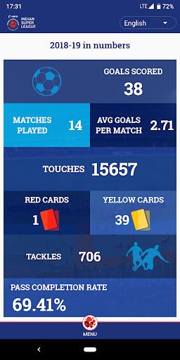 Indian Super League - Official App 7.5 screenshots 2