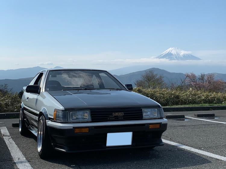 マークII JZX100のSSS(saitama street stage),箱根ターンパイク,大涌谷,芦ノ湖,富士山に関するカスタム&メンテナンスの投稿画像6枚目