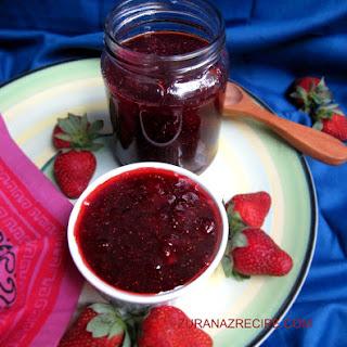 Strawberry Jam/3 Ingredients Strawberry Jam without Pectin