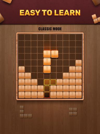 Wooden 100 Block Puzzle: Wood Hexa Star Gem apktram screenshots 5