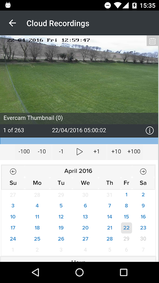 Evercam- screenshot