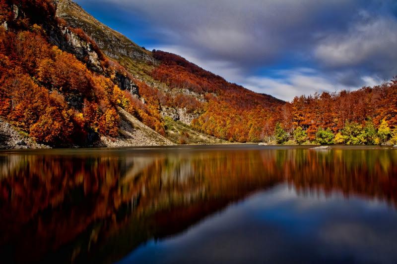Autunno al Lago santo di Gianluca Presto