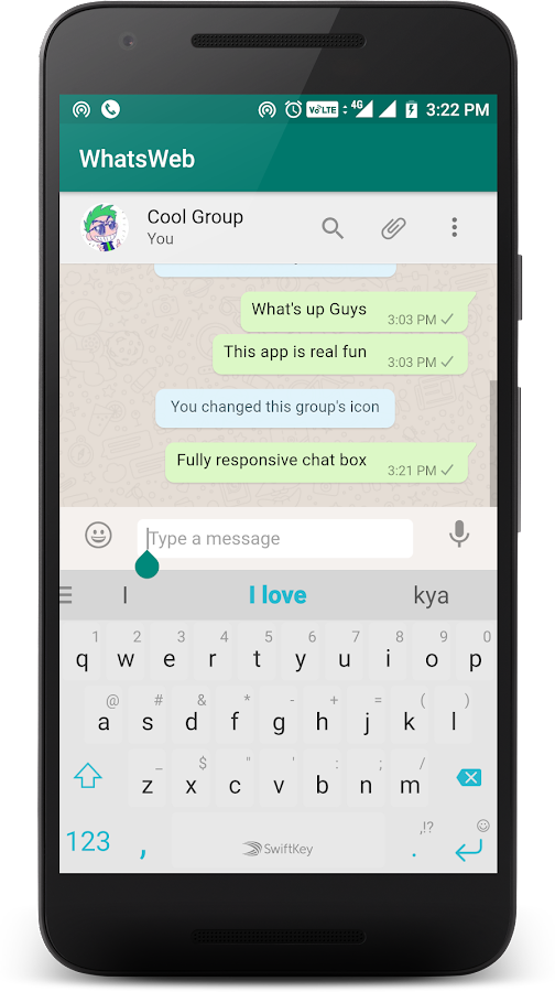 WhatsWeb WebLite for Whatsapp- screenshot