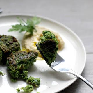 Broad Bean & Spring Greens Falafel