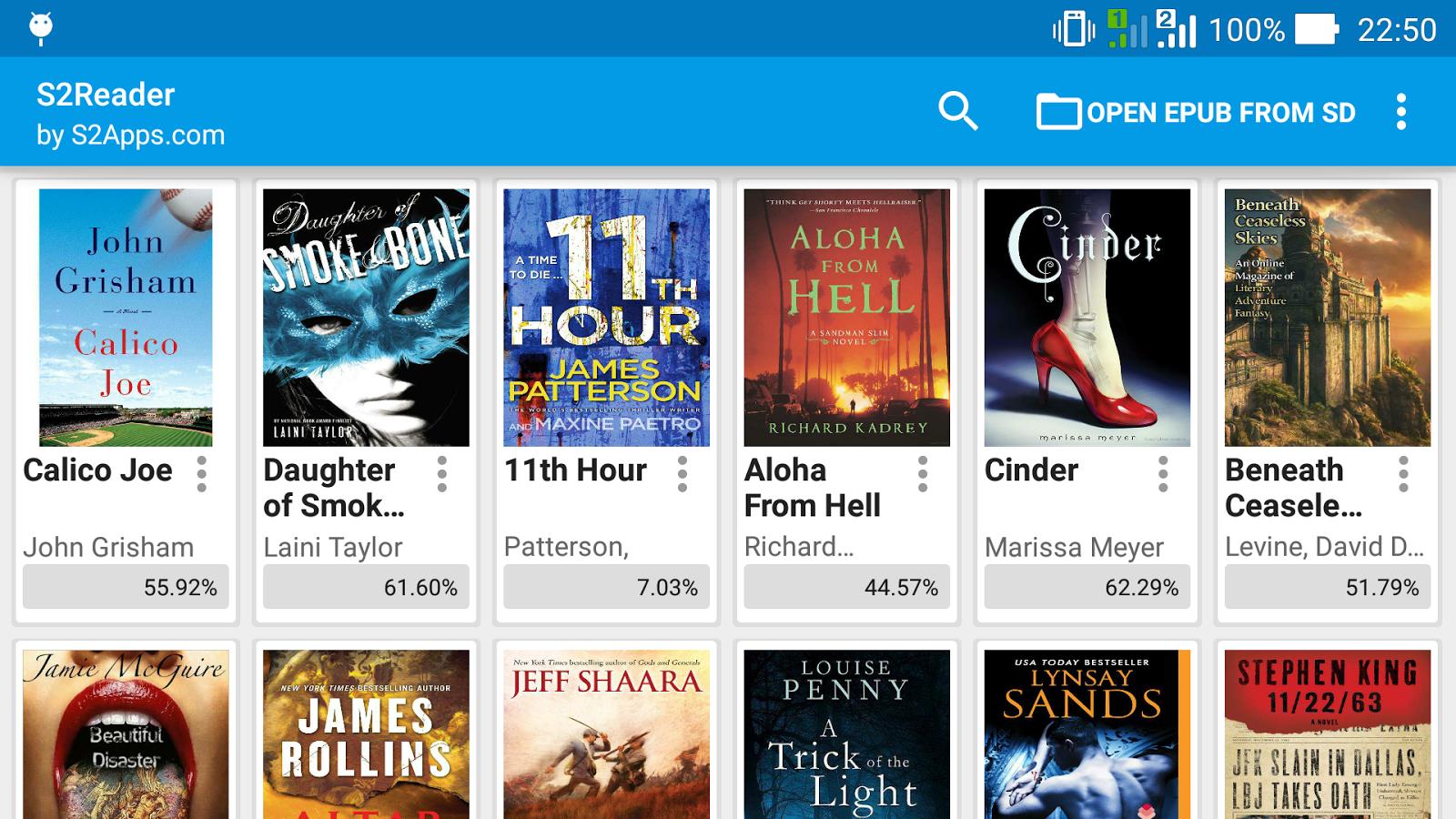 ePUB EBook Reader Skoob - Android Apps on Google Play