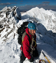 Photo: Pete, and the Pinnacles of An Teallach