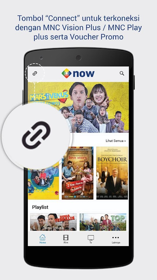 MNC Now: TV & Film Streaming