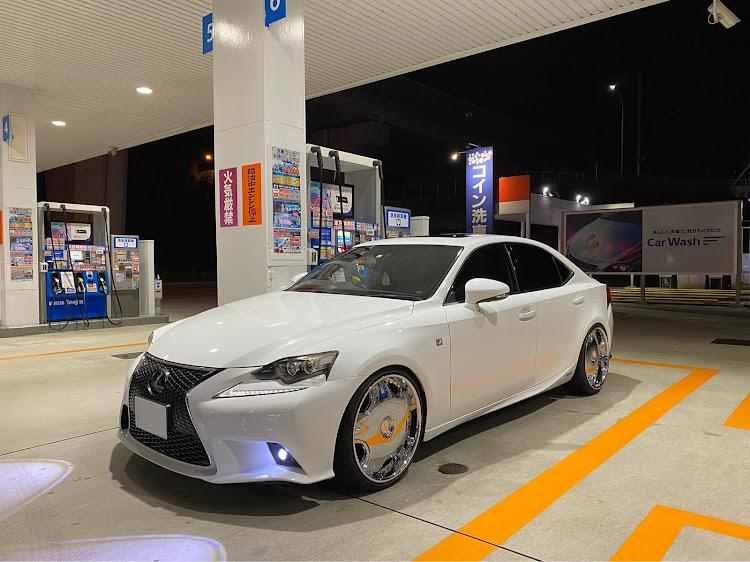 IS AVE30の福岡,LEXUS,fスポーツ,レクサス IS,ホイールに関するカスタム&メンテナンスの投稿画像1枚目