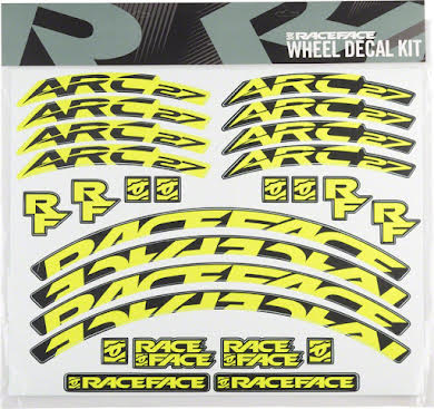RaceFace Decal Kit for Arc 27 Rims Green