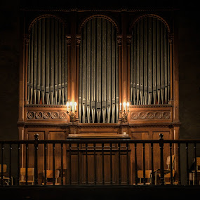 Organ by Denis Sinoussi - Buildings & Architecture Public & Historical ( monuments, wood, church, organ, stone, steel )