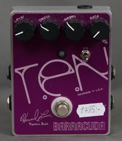 Toadworks Barracuda Flanger USED. Good condition