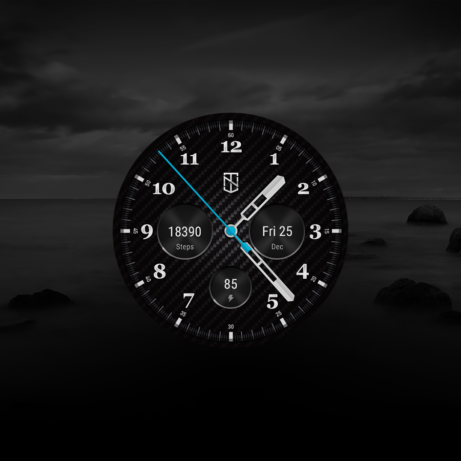 Carbon Fiber Watch Face Android Apps On Google Play