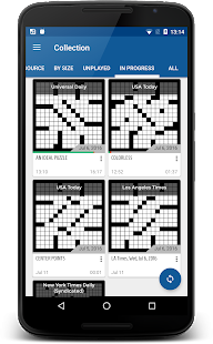 alphacross Crossword- screenshot thumbnail