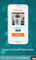 Guess Footballer Nationality APK screenshot thumbnail 2
