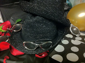 Photo: I just love those hats and the sunglasses were just for fun.