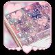 Rose Gold Heart Keyboard Theme apk