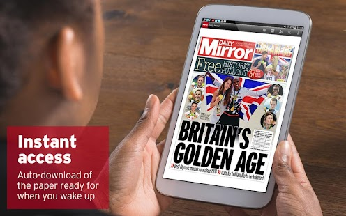 Daily Mirror & Sunday Mirror- screenshot thumbnail