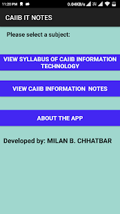 Download CAIIB IT NOTES For PC Windows and Mac apk screenshot 4