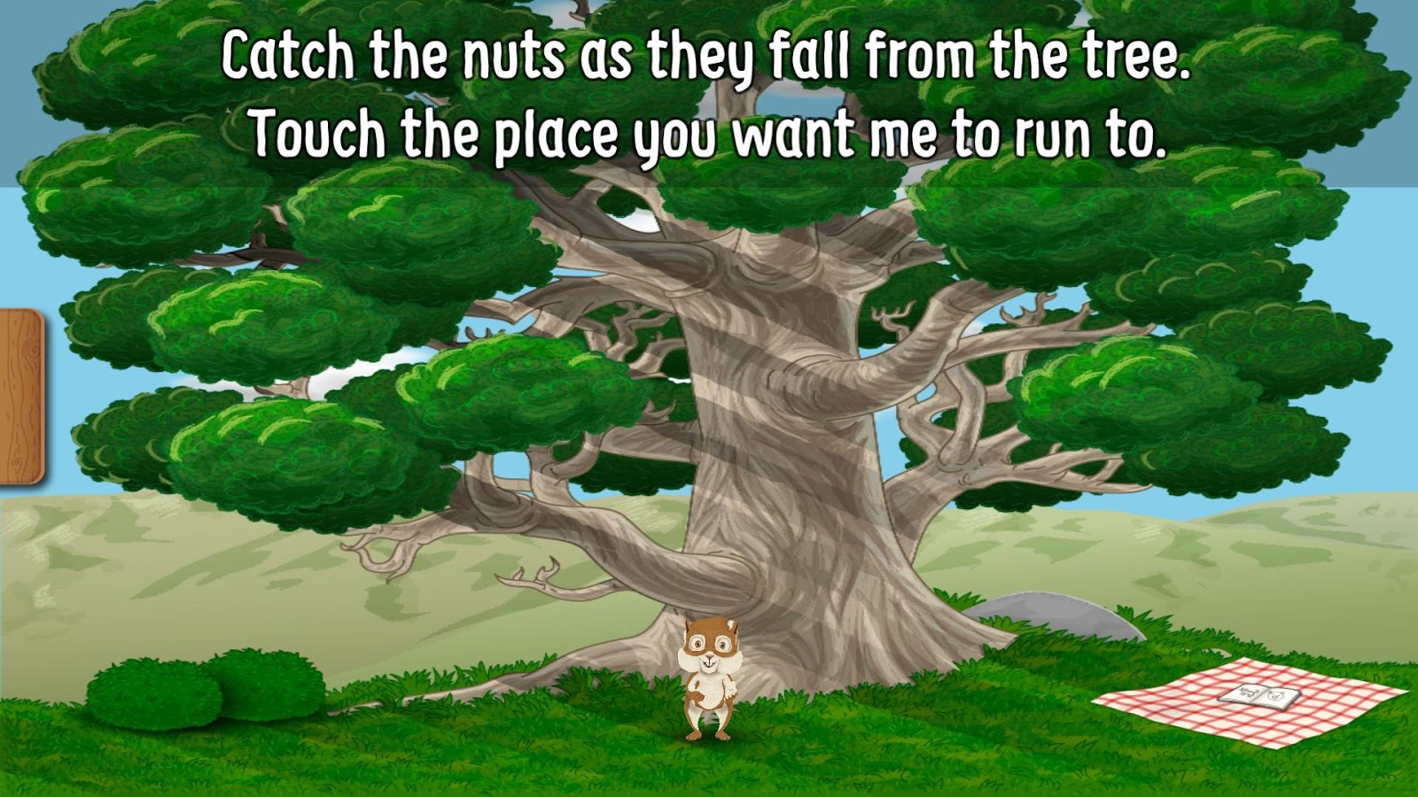 Lucky's Catch the Nuts- screenshot