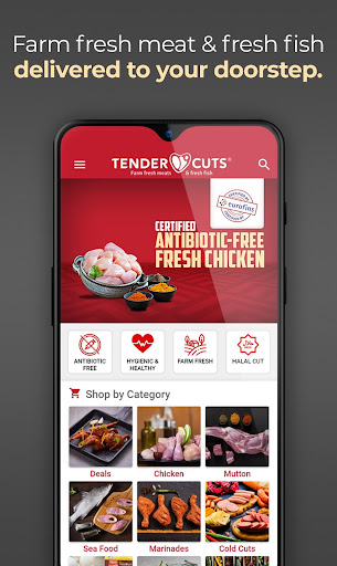TenderCuts - Farm Fresh Meat & Fresh Fish android2mod screenshots 1