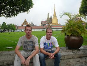 Photo: S Jarkem další den navštěvujeme velký palác (Grand Palace), který byl dříve sídlem thajských králů.