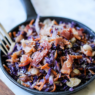 Fried Cabbage with Bacon (Keto Friendly).