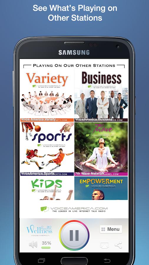 VoiceAmerica Radio Network - screenshot