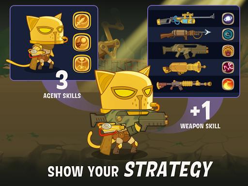 AFK Cats: Idle RPG Arena con capturas de pantalla épicas de Battle Heroes 9