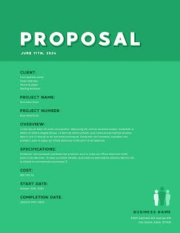 Outlined Proposal - Proposal item