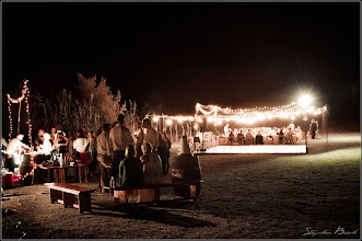 Photo: Open air lighting & dance floor