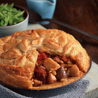 Roasted Tomato and Rabbit Pot Pie