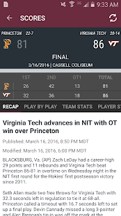 Virginia Tech HokiesXtra- screenshot thumbnail
